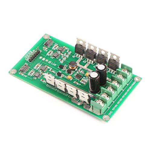 Riorand® Dc Smart Car Pwm Dual Motor Driver Controller Module Circuit Board H-Bridge Mosfet Irf3205 3-36V 15A Peak 30A For Arduino