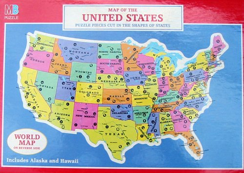 Map of the United States Puzzle - 1