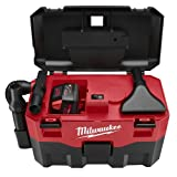 Milwaukee 0880-20 18V Cordless Lithium-Ion 2 Gallon Wet/Dry Vacuum (Bare Tool) (Color: Red)