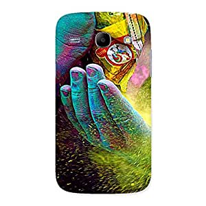 Premium Hands and Colors Back Case Cover for Galaxy Core