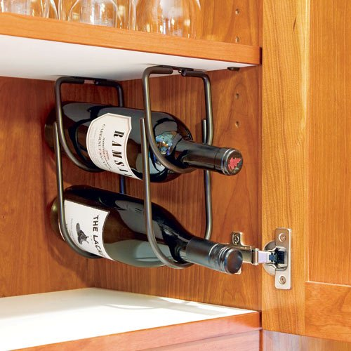 Double Bottle Rack, Oil Rubbed Bronze