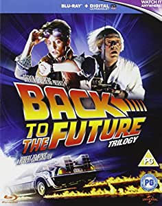 Back to the Future Trilogy [Blu-ray] [1985] [Region Free]