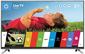 LG Electronics 55LB6300 55-Inch 1080p 120Hz Smart LED TV (Big Game Special) by LG