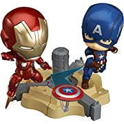 ねんどろいど アイアンマン マーク45 + ねんどろいど キャプテン・アメリカ ヒーローズ・エディション セット 特典「シビル・ウォー/キャプテン・アメリカ」USBメモリ(8GB)付き