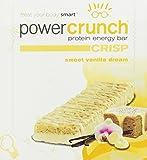 BNRG Power Crunch Crisp Sweet Vanilla Dream - 12 pack (1.5 oz)Bars