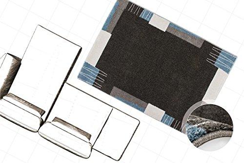 Moderner Flachflor Teppich Kurzflor