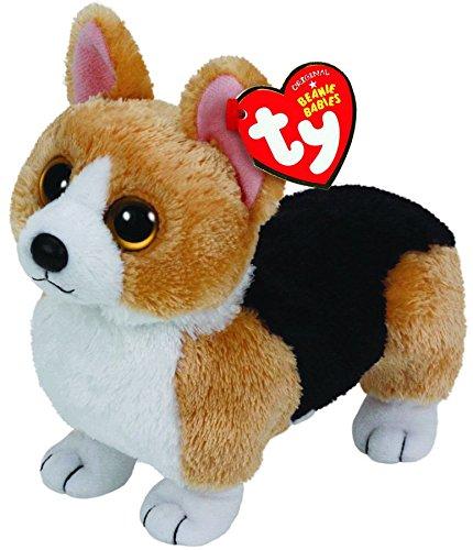 Ty Beanie Babies Otis - Corgi Brown Dog - 1