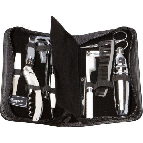 Royce Leather Men's Men's Travel Grooming Kit,Black,One Size