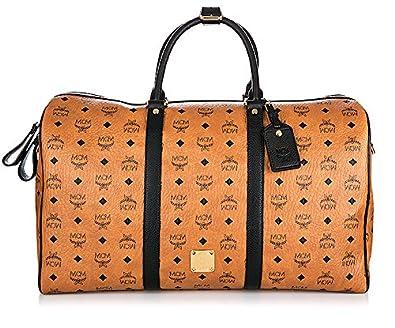 mcm weekender reisetasche stark large cognac schuhe handtaschen. Black Bedroom Furniture Sets. Home Design Ideas