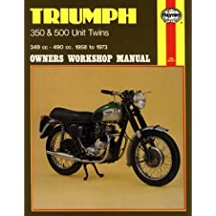 【クリックで詳細表示】Triumph 350 and 500 Unit Twins Owners Workshop Manual, No. 137: '58-'73 [ペーパーバック]