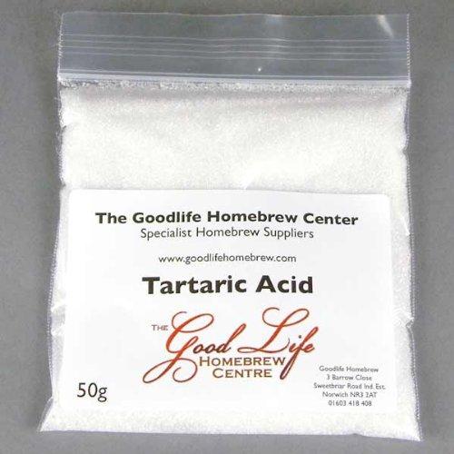 Acide tartrique-50g