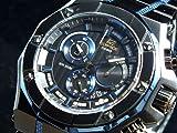[カシオ] CASIO 腕時計 EDIFICE エディフィス クロノグラフ EFX510BL-1A メンズ 海外モデル [逆輸入]