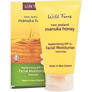 Wild ferns Manuka Honey Replenishing Spf15+ Facial Moisturiser