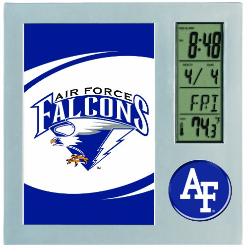 NCAA Air Force Academy Digital Desk Clock Picture Frame