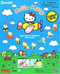 Hello Kitty Figure Charms series 2 Capsule Toys set of 8