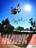 "Tony Hawk Authentic Autographed 18"" x 24"" Poster"