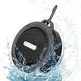 iEazy Wireless Portable Bluetooth Speaker Stereo Super Shockproof Waterproof Sport Outdoor Hi-fi Bass - Black