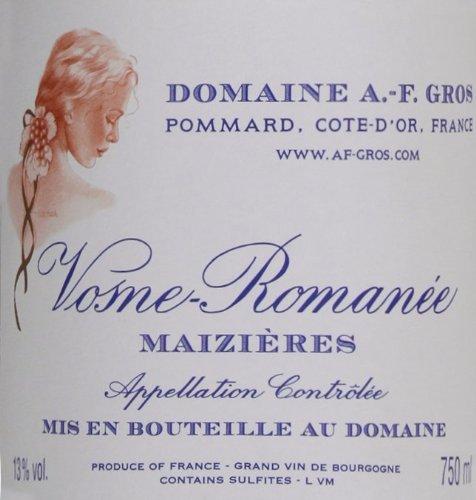 2009 Domaine A.-F. Gros Vosne-Romanee Maizieres Burgundy Pinot Noir 750 Ml