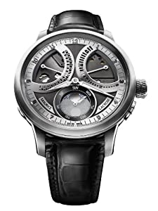 Maurice Lacroix Masterpiece Lune Retrograde Limited Edition Mechanical Manual-wind MP7278-SS001-320 by Maurice Lacroix