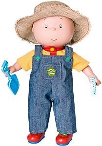 "Amazon.com: Caillou 14.5"" Farmer Doll: Toys & Games"