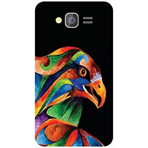 Samsung Grand Colored Owl Matte Finish Phone Cover - Matte Finish Phone Cover