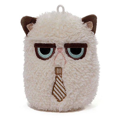 Gund Grumpy Cat Mini Plush with Tie, 4""