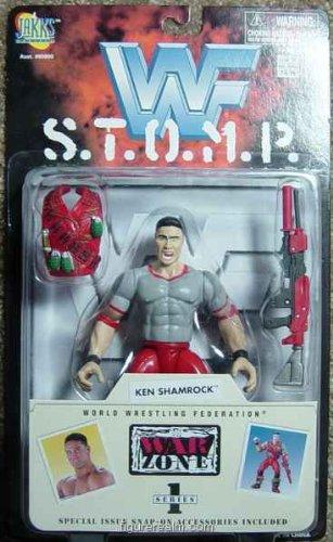 WWF S.t.o.m.p. Series 1 Ken Shamrock