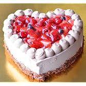 ハートのショコラベリーショートケーキ 直径18cm6号サイズ相当 バレンタインをはずさない一品