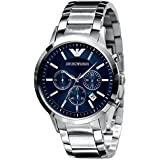 Emporio Armani Men's AR2448 Classic Blue Dial Chronograph Watch