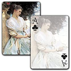 In a Garden, Corfu c. 1909 - Single Deck Playing Cards