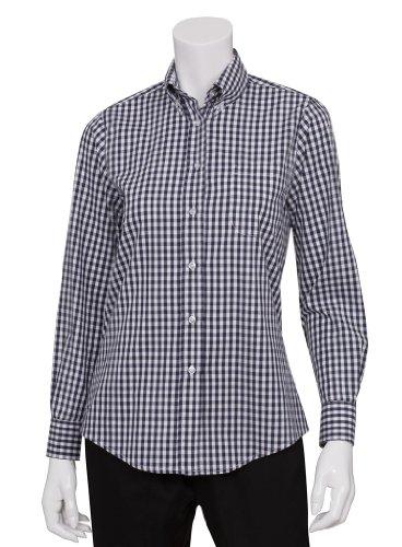 Chef Works W500 Women's Oxford Shirt, Small, Dark Navy (Chefs Work Shirt compare prices)