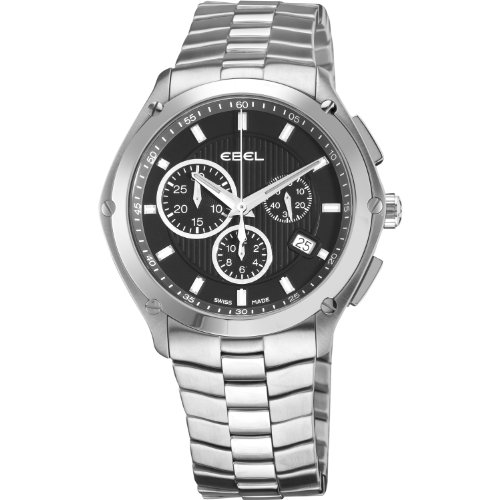 Ebel Men's 9503Q51/153450 Classic Sport Stainless Steel Bracelet Chronograph Watch