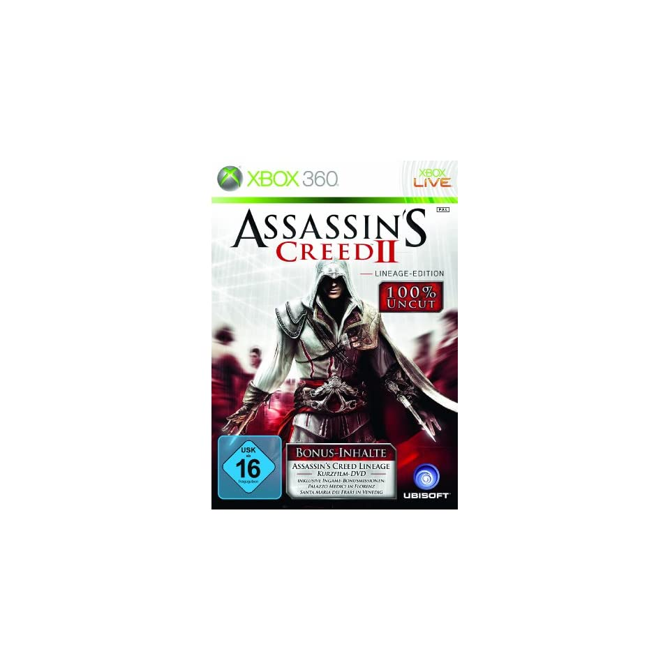 Assassins Creed 2 Lineage Edition Xbox 360 Games On Popscreen