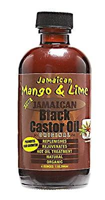 Jamaican Mango and Lime Black Castor Oil