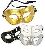 DOMINO Venezia Máscara, en varios colores, para Carnaval Máscara Ball