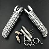 Motorcycle Motor Front Foot Pegs Footrest Fit For Yamaha Yzf-R1 Yzf-R6 Yzf R6 R1 1999-2011