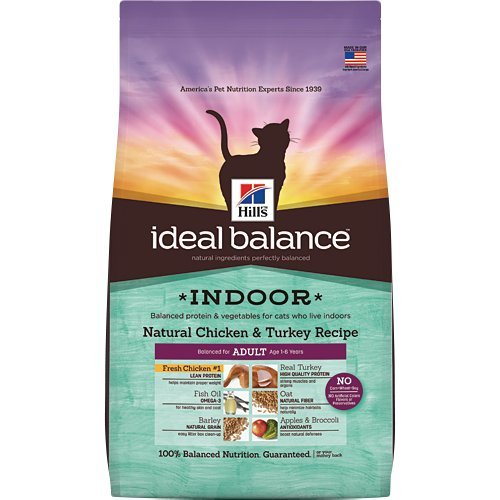 Hill's Ideal Balance Indoor Natural Chicken & Turkey Recipe Adult