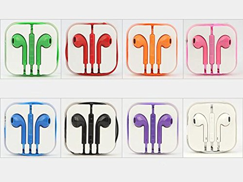 Liroyal Headphones?With Mic Volume?Controls?For?Apple?Ipad?Ipod?Iphone?5,4,4S,3G,3,Purple