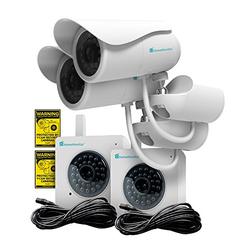 Learn More About Wireless Security IP Camera; Y-Cam HomeMonitor HD Wireless Surveillance Camera; The...