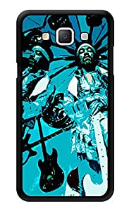 "Humor Gang Jimi Hendrix - Blue Rock Star Printed Designer Mobile Back Cover For ""Samsung Galaxy A5"" (3D, Glossy, Premium Quality Snap On Case)"