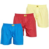 GlobalRang Boxers For Men Pack Of 3