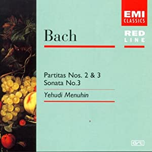 Red Line - Bach (Sonaten und Partiten für Violine solo)