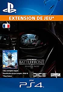 star wars battlefront season pass extension de jeu code jeu psn ps4 jeux vid o. Black Bedroom Furniture Sets. Home Design Ideas