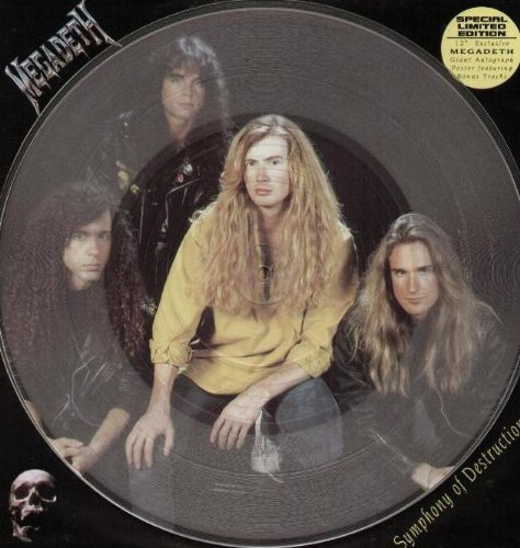 Symphony Of Destruction (Clear Vinyl Poster Edition) by Megadeth