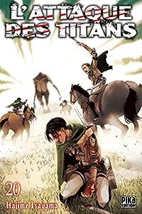 L'Attaque des Titans Edition simple Tome 20