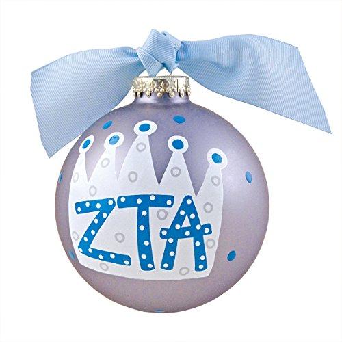 Zeta Tau Alpha Crown Ornament