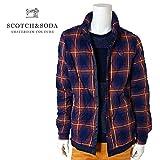 SCOTCH&SODA(スコッチ&ソーダ) キルティングシャツジャケット [メンズ] 292-21831 Nordic Shirt Jacket 【NVY(014)/S】 ブルソン チェック ノルディック ネイビー S,NVY