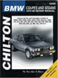 img - for BMW Coupes and Sedans, 1970-88 (Chilton's Total Car Care Repair Manual) book / textbook / text book