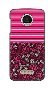 SWAG my CASE Printed Back Cover for Motorola Moto Z