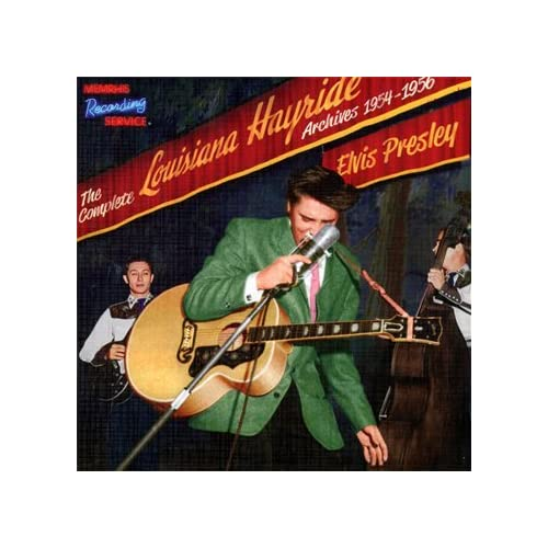 The-Complete-Louisiana-Hayride-Archives-1954-1956-CD-100-Page-Book-Elvis-Presl